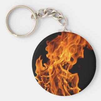 Flame Keychain