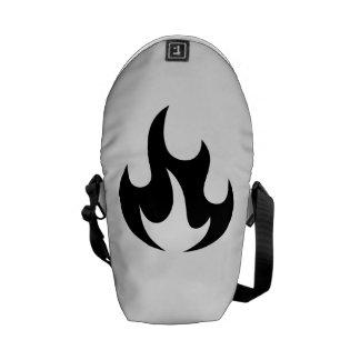 Flame Messenger Bags