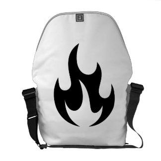 Flame Messenger Bag