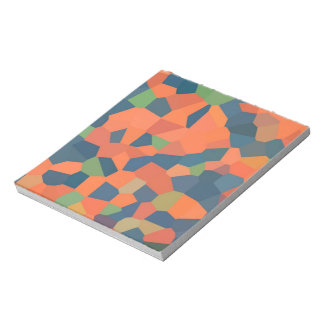 Flame, Midnight, Green Notepad or Jotter
