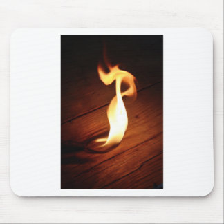 Flame. Mouse Pad
