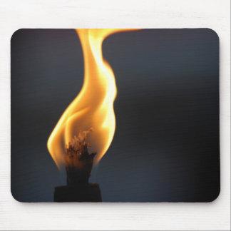 Flame mousepad