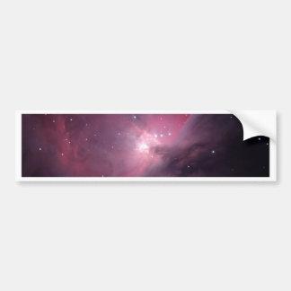 Flame Nebula Bumper Sticker