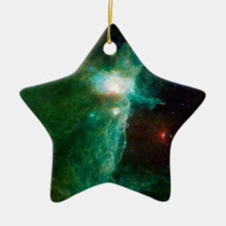Flame Nebula NASA Ceramic Ornament