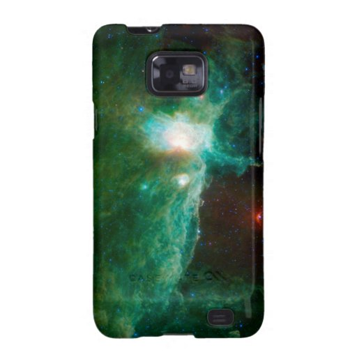 Flame Nebula NASA Galaxy SII Cover