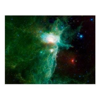 Flame Nebula NASA Postcard