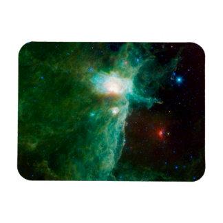 Flame Nebula NASA Rectangular Magnet