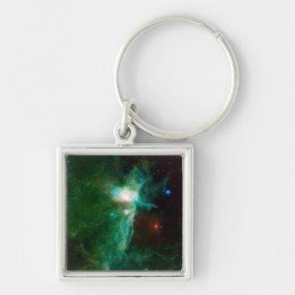Flame Nebula NASA Space Keychain
