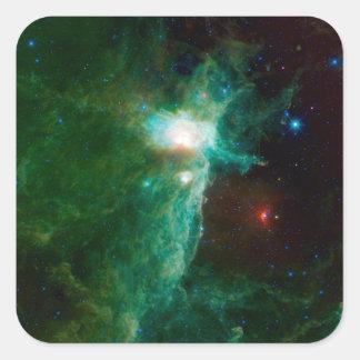 Flame Nebula NASA Stickers