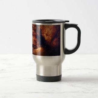 Flame Nebula NGC 2024 Orion's Belt Travel Mug