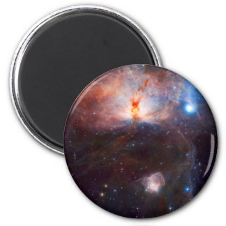 Flame Nebula Space Astronomy Refrigerator Magnet