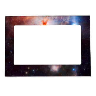 Flame Nebula Space Astronomy Magnetic Frame