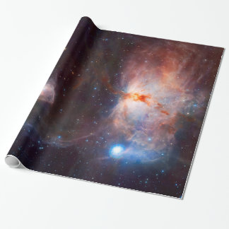 Flame Nebula Space Astronomy Wrapping Paper