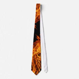 Flame Neck Tie
