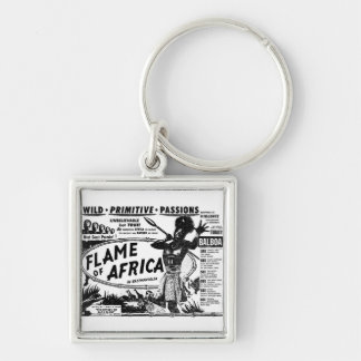 Flame of Africa Keychain