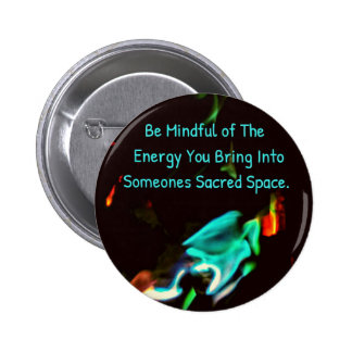Flame of Energy Mindfulness Sacred Space Quote Button