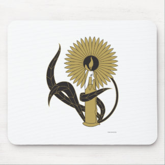 Flame of Love Mouse Pad