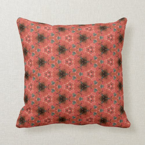 Flame of the Forest 3 Throw Pillow