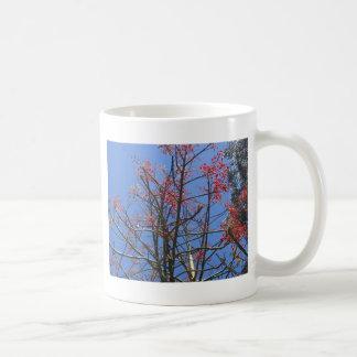 Flame on Blue Coffee Mug