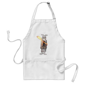 FLAME ON! Switch On Fire! Aprons