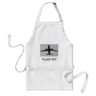 FLAME OUT ADULT APRON