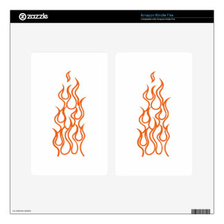 Flame Outline Skin For Kindle Fire