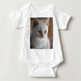 Flame Point Blue Eyes Baby Bodysuit