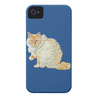 Flame point siamese cat 2 iPhone 4 Case-Mate case