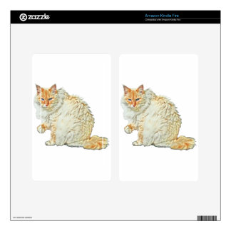 Flame point siamese cat 2 kindle fire decal
