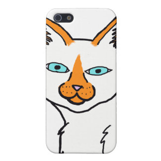 Flame Point Siamese Cat Iphone Case
