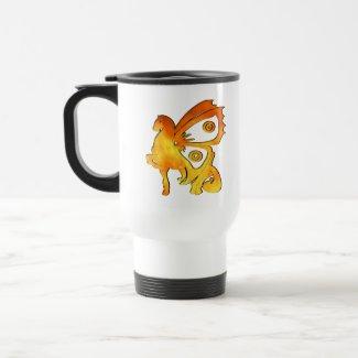 Flame Pony mug