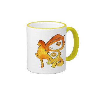 Flame Pony Coffee Mug