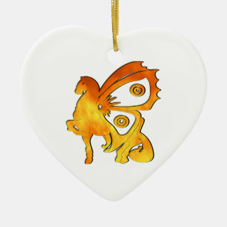 Flame Pony Ornaments