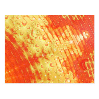 Flame Ripples Postcard
