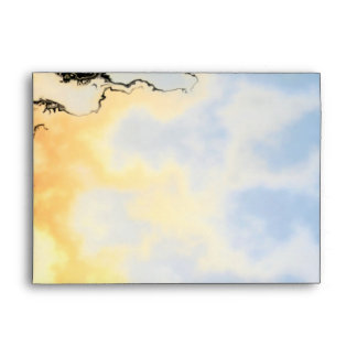 Flame Scorched Abstract Envelope