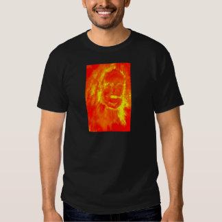 Flame Skull T Shirt