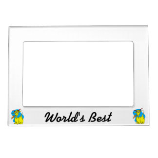 Flame Sneezer Yellow Dragon png Magnetic Frame