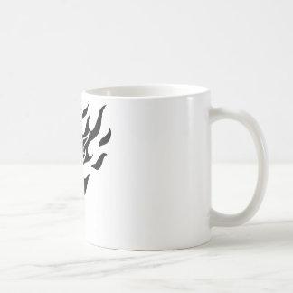 Flame Soccer Ball Coffee Mug