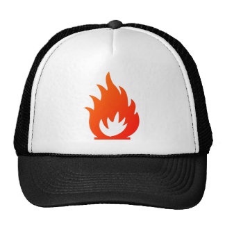 Flame Symbol by Chillee Wilson Trucker Hat