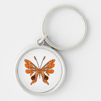 Flame Tattoo Butterfly Keychain
