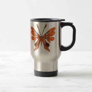 Flame Tattoo Butterfly Coffee Mugs
