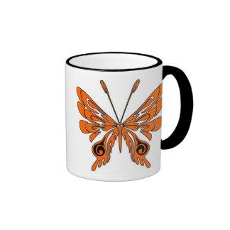 Flame Tattoo Butterfly Coffee Mug