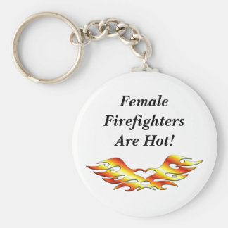 Flame Tattoo Keychain