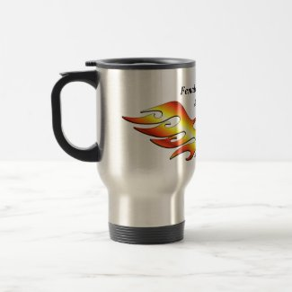 Flame Tattoo mug