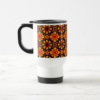 Flame Tile Travel Mug