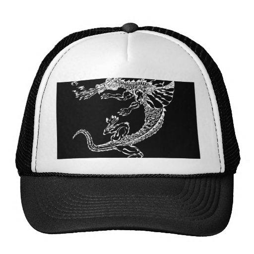 Flame Trucker Hats