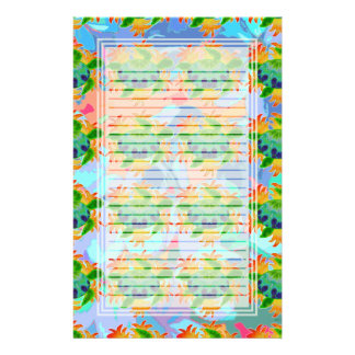 Flame Turtle Lined Stationery