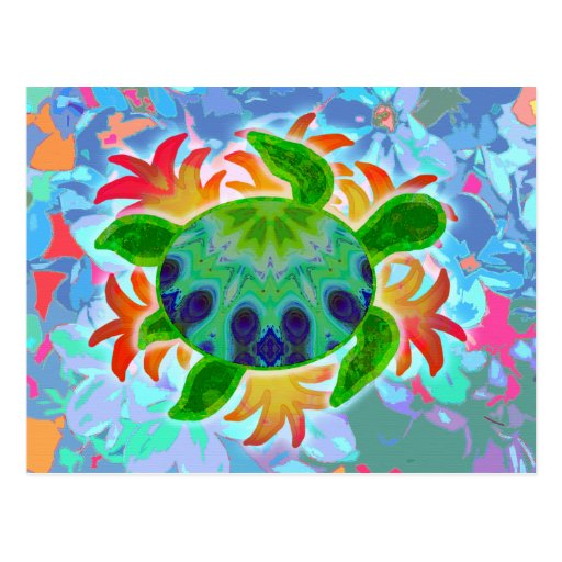 Flame Turtle Postcard