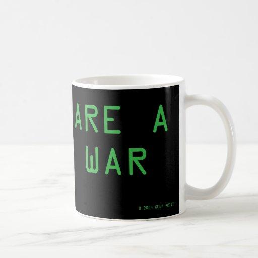 Flame War Tazas De Café