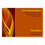 Flame Waves Large Business Card